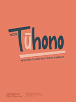 Book Jacket for: Tūhono. a journal of poetry by children and teens / 2020 :