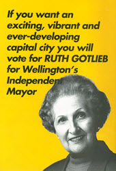 Standing for Mayor campaign literature 1992