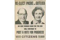 Re-election campaign 1986