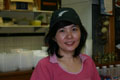 Lyn (Malaysian) likes all the friendly people and regular customers. Lyn works at Kopi Tiam Café.